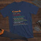 Perfect Coach Definition Mens Personalized Custom Name Shirt