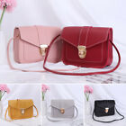 Mini Candy Color Wallet Handbag Small Square Pack Shoulder Bag Pu Leather