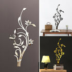 Diy Acrylic Modern Mirror Decal Art Mural Wall Stickers Removable Home Decors