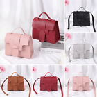 Color Mini Casual Small Square Pack Shoulder Bag Wallet Handbag Pu Leather