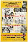 """YOU ONLY LIVE TWICE 1967 James Bond ESQUIRE = MOVIE POSTER 10 Sizes """"17 - 5 FEET $68.88 CAD on eBay"""