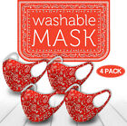 StoreInventory4 pack mix! face mask paisley reusable washable protection cover breathable