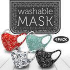 Kyпить 4 Pack Mix! Face Mask Paisley Reusable Washable Protection Cover Breathable на еВаy.соm