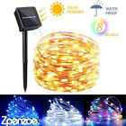 200led Solar String Fairy Light Waterproof Copper Wire Outdoor Garden Home Decor
