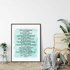 People Are Often Unreasonable And Self Centered, Mother Teresa Quote Print