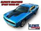 Fits Dodge Challenger Sport Hood Graphics Vinyl Stripes 3M Decals Stickers 15-20 $59.95 USD on eBay