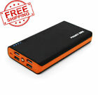 900000mAh Power Bank LCD LED Charger for Cell Phone Pack 4 USB External Portable