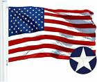 American USA Flag 2X3 3x5 4X6 ft Embroidered Stars Sewn Stripes Brass Grommets