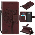 For Samsung Galaxy J7 V /J7 Prime /Sky Pro / Perx Leather Flip Wallet Folio Case