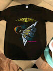 Boston Band 1987 US TOUR THIRD STAGE Space Ship T-Shirt Gildan Reprint S-2X. image