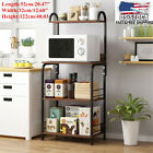 4Tier Kitchen Microwave Oven Stand Rack Baker Shelf Storage Home Counter