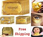 24K GOLD COLLAGEN FACE LIP PUFFY EYE NECK MASK WRINKLE TIRED ANTI AGE TREATMENT