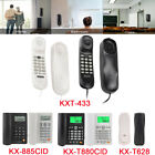 Landline Corded Phones Home Office Desk Wall Mounted Telephone Large LCD Display
