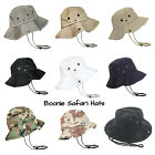 Newhattan Boonie Safari Bucket Hat Foldable Military Style Cap