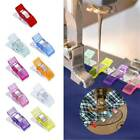 Pack Of 50pcs /10 Wonder Clips For Quilting Fabric Craft Knitting Sewing Crochet