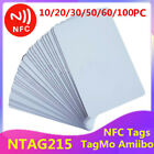 10-100PC NTAG215 Tags Blank PVC Cards NFC Game TagMo Amiibo Compatible US