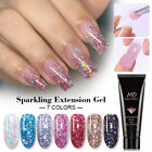 MAD DOLL 15g Glitter Extension Nail Gel Quick Building Poly Extension Gel Polish