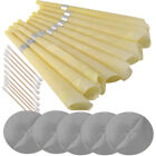 Earwax Candles Ear Candling Hollow Blend Cone Beeswax Cleaning Massage