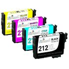212XL 212 XL Remanufactured Ink Cartridges for Epson WorkForce WF-2830 WF-2850