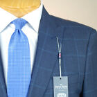 44R SAVILE ROW Blue Check SUIT SEPARATE  44 Regular Mens Suits - SS46