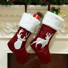 Stockings Gift Christmas Decorations For Home Ornaments Candy Bag Kids Presents