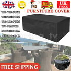 Furniture Table Cover Garden Patio Rattan Table Cube Covers Outdoor Heavy Duty