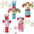 Jewelry Baby Watch Toys Baby Rattle Animal Pp Cotton Infant Foot Wrist Strap 6T