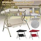 Outdoor Garden Swing Chair Canopy Bed 3 Seater Patio Hammock Bench Lounger Au