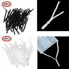 Flat Elastic Cord Bands With Adjustable Buckle Stretchy Sewing Ear Loop 50x Usa