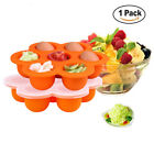 Milk Freezer Tray Baby Food Container Lattice Food Container Food Box Crisper 6T