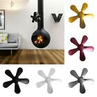 5 Blade Fireplace Heat Powered Stove Fan Silent Wood Log Burning Stove Fan Blade