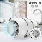 FJ- Durable 4inch/6inch Silent Oblique Flow In-Line Extractor Ventilation Duct F