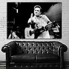 EB003 Johnny Cash Rock Soul Jazz Blues Music Musician Poster and Canvas