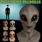 Cosplay Alien Horror Latex Mask Halloween Fancy Dress Party Headwear Props