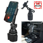 360 Degree Adjustable Car Cup Holder Stand Cradle Mount Universal For Cell Phone