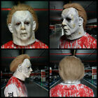 2020 Halloween Michael Myers Mask Realistic Latex Prop Cosplay Headgear US