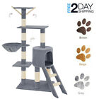 Cat Tree Scratching Post Climbing Activity Centre Sisal Scratcher Fun to Play UK