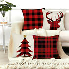 Christmas Pillow Case Beautiful Cushion Cover For Bed, Chair, Couch, Auto-seat
