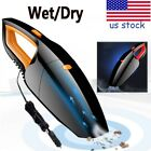 1pc Car Vacuum Cleaner 12V 120W For Auto Mini Portable Wet Dry Handheld Duster