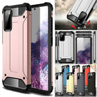 For Samsung Galaxy S20 Fe 5g Rugged Armor Hybrid Shockproof Back Cover Case