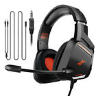 Gaming Headset Bass Stereo Headphone & Mic For PS4/Nintendo Switch/Xbox One/PC