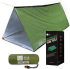 Bearhard Emergency Tent, 2 Person Tube Tent Survival Shelter With Paracord, Stak