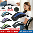 UK 3 Level Magic Back Spine Lumbar Support Muscle Stretcher Acupuncture Relief