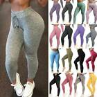 Women's Yoga Leggings Push Up Pants High Waisted Sports Seamless Gym Trousers