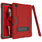 """For Samsung Galaxy Tab A7 10.4"""" SM-T500 T505 Hybrid Silicone Armor Stand Case"""