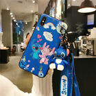 Disney Cartoons Stitch Rope Doll Phone Case For iPhone 11 12 Pro Max Mini XR XS