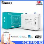 Sonoff 4CH PRO R3 Smart Home Wifi Switch 4 Gang Self-Locking Interlock Inching