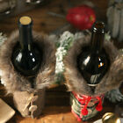 Ab_ Xmas Heat Insulation Pad Glove Table Runner Wine Bottle Cover Tree Skirt Dec