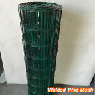 50/30/25/15/10M Galvanised Welded Wire Mesh Panels PVC Coated Welded Wire Mesh