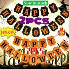 2pcs Halloween Bunting Garland Weird Decorations Party Party Decoration
